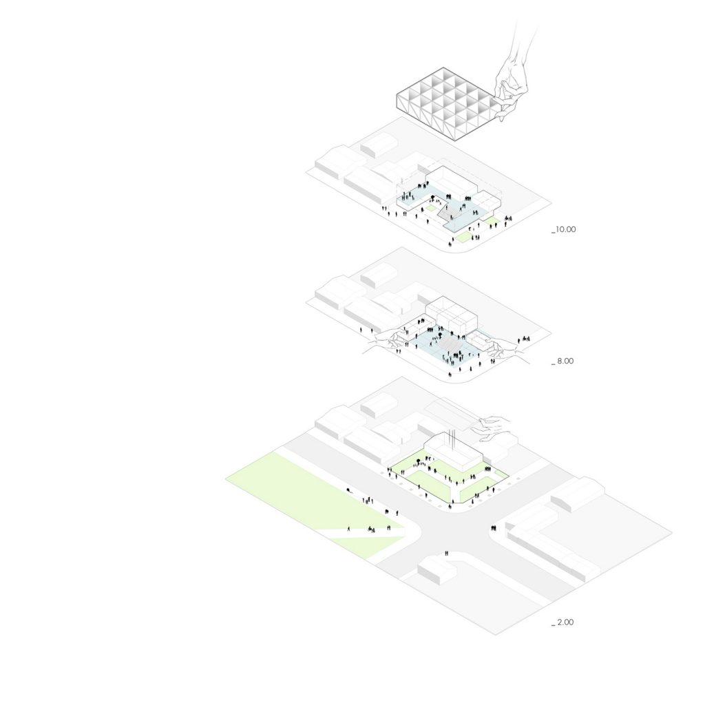 Anelo esquema - Metha Arquitectos