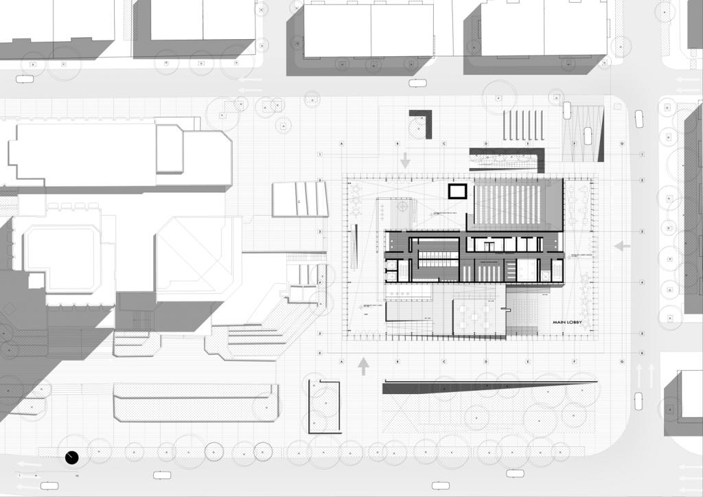 Varna plot plan - Metha Arquitectos