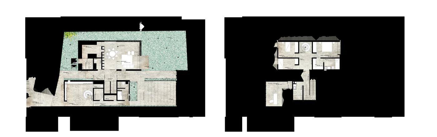 Oxapampa plantas 1 - Metha Arquitectos