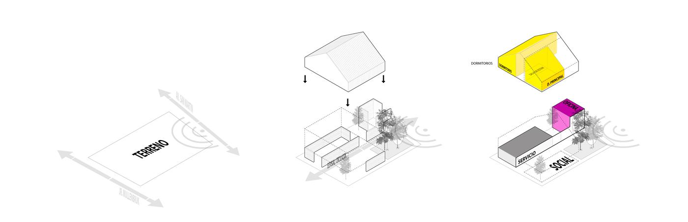 Oxapampa schemes - Metha Arquitectos