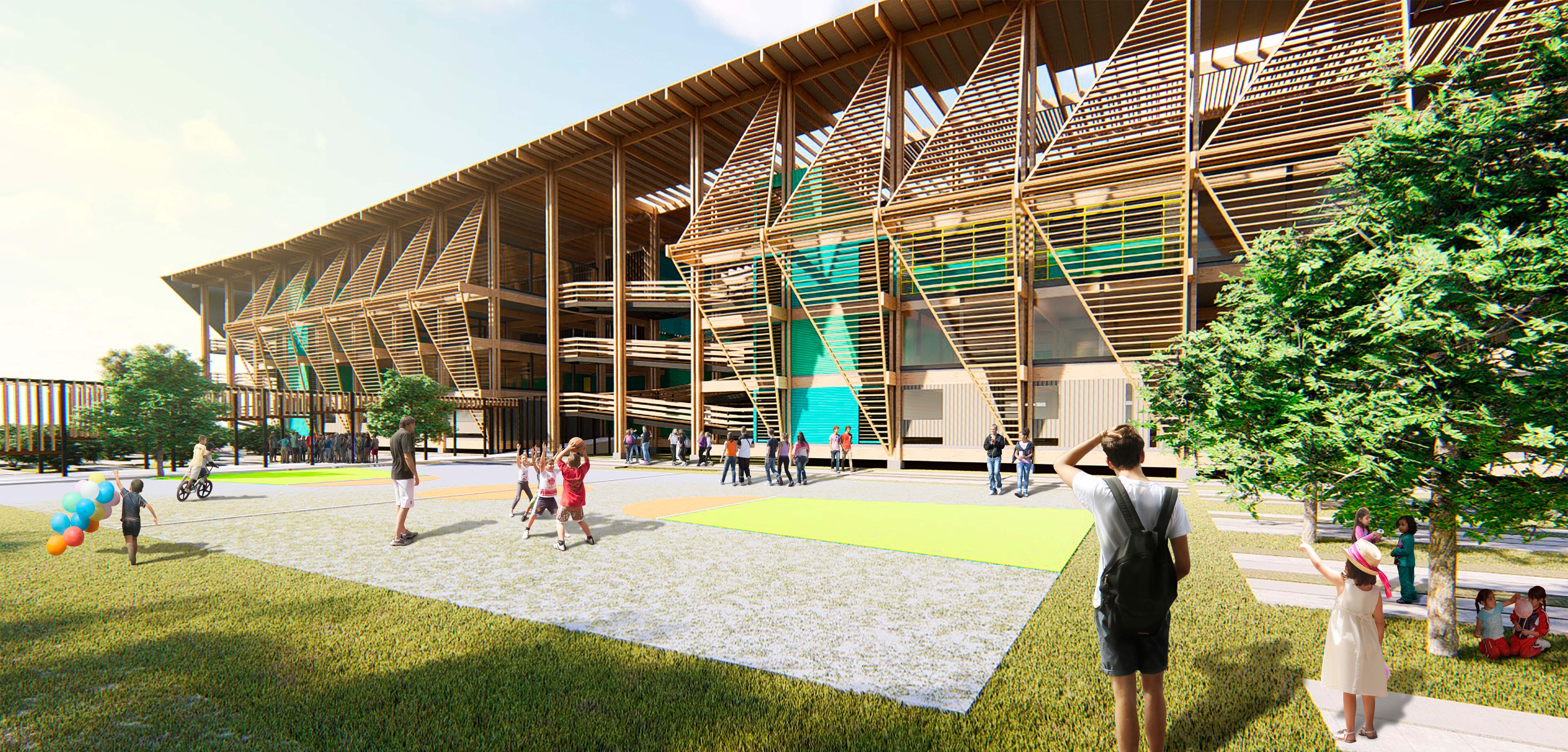 Ciudad espacio - Educativo pedagogia - Metha Arquitectos